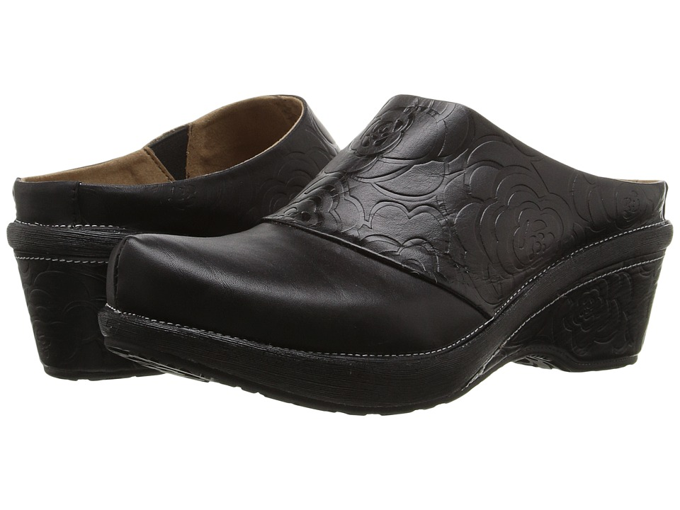 Spring Step - Bande (Black) Women's Clog/Mule Shoes