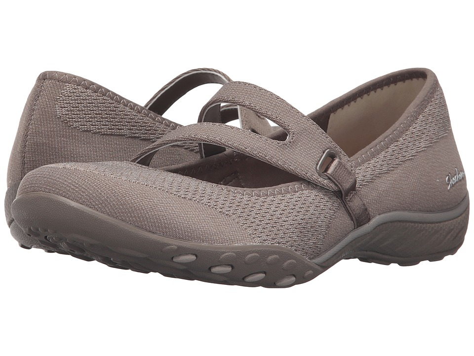SKECHERS Active Breathe Easy Lucky Lady (Taupe) Women
