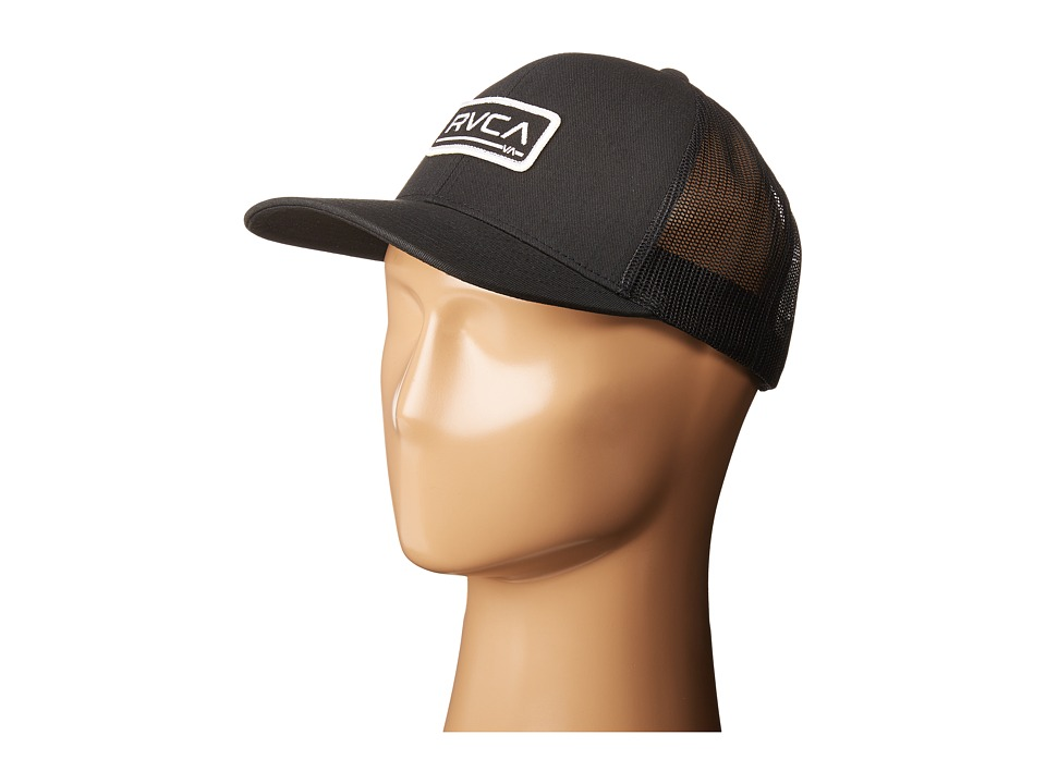 RVCA - Ticket Trucker (Black) Caps
