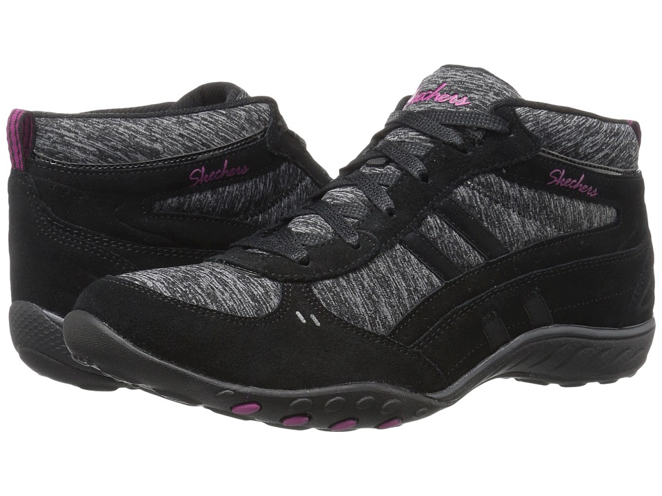 SKECHERS - Active Breathe Easy - Shout Out (Black) Women's Shoes