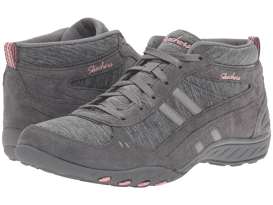 SKECHERS - Active Breathe Easy - Shout Out (Charcoal) Women's Shoes