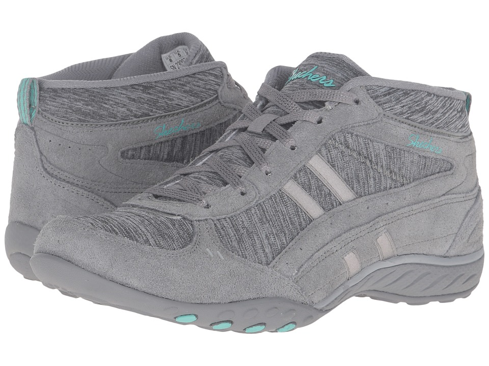 SKECHERS - Active Breathe Easy - Shout Out (Gray) Women's Shoes