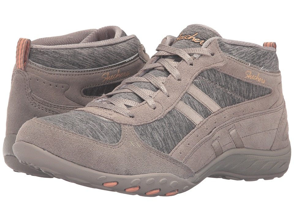 SKECHERS - Active Breathe Easy - Shout Out (Taupe) Women's Shoes
