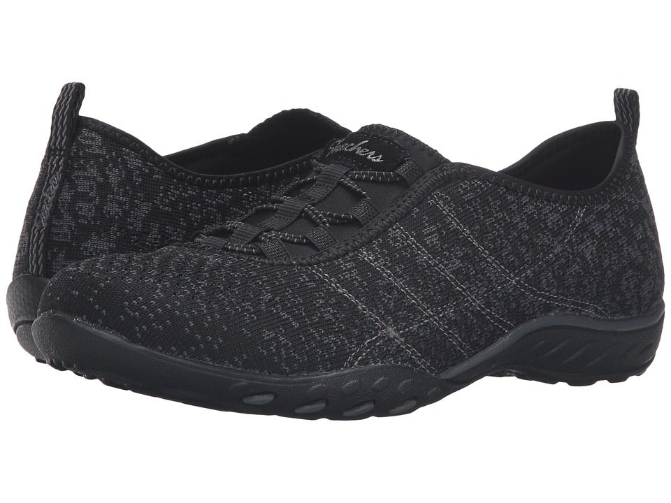 SKECHERS - Active Breathe Easy - Just Chillin' (Black) Women's Shoes