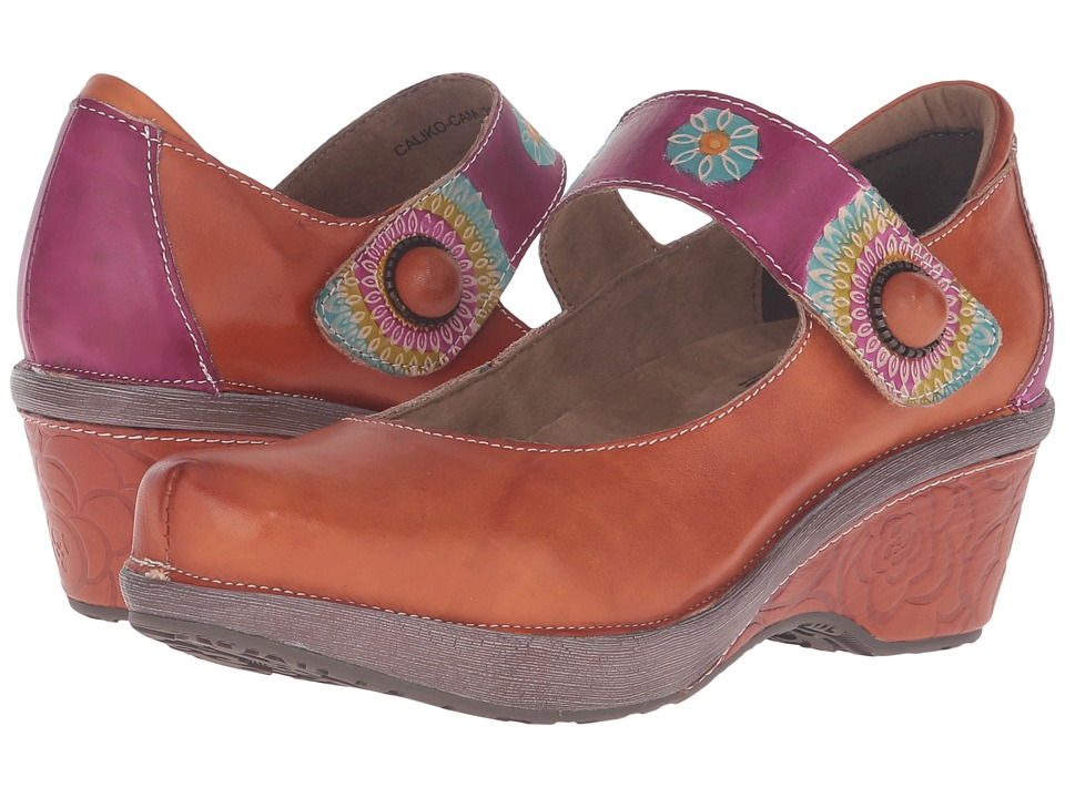 Spring Step Caliko (Camel) Women