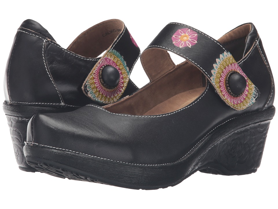 Spring Step Caliko (Black) Women