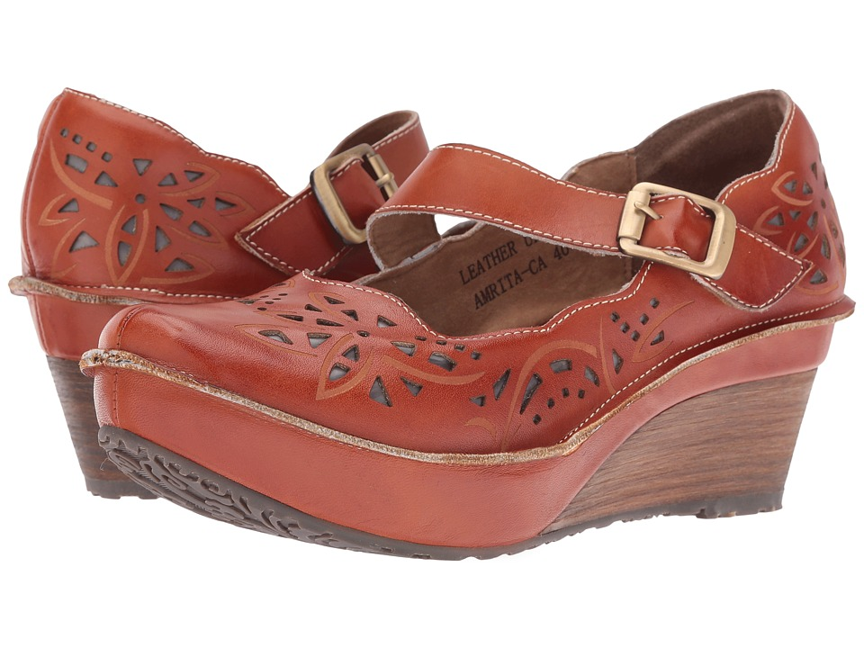 Spring Step - Amrita (Camel) Women's Maryjane Shoes