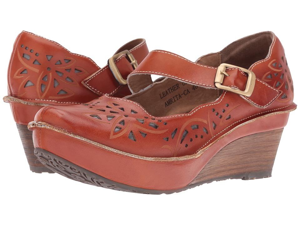 Spring Step - Amrita (Camel) Women's Maryjane Shoes