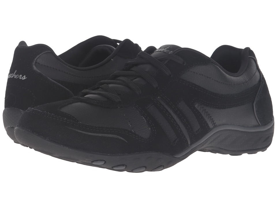 SKECHERS - Active Breathe Easy - Modern Day (Black) Women's Shoes