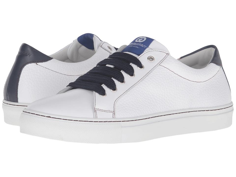 Gold & Gravy - Uptown (White/Blue) Men's Shoes