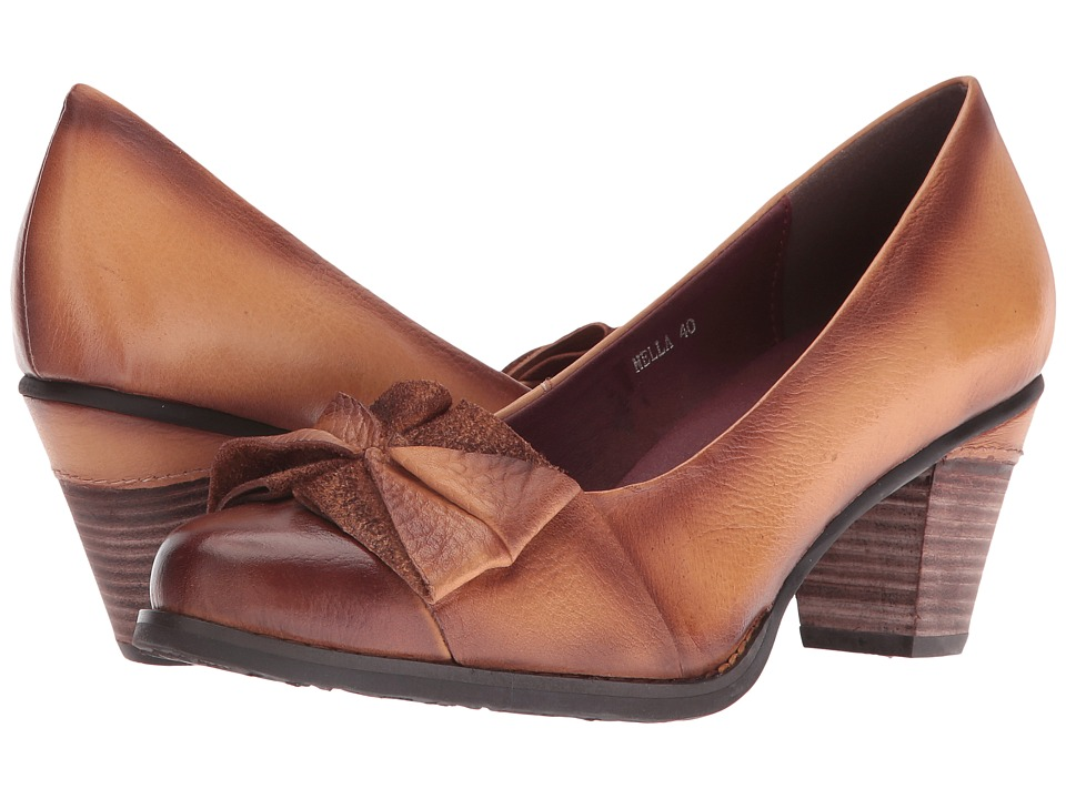 Spring Step - Nella (Natural) High Heels