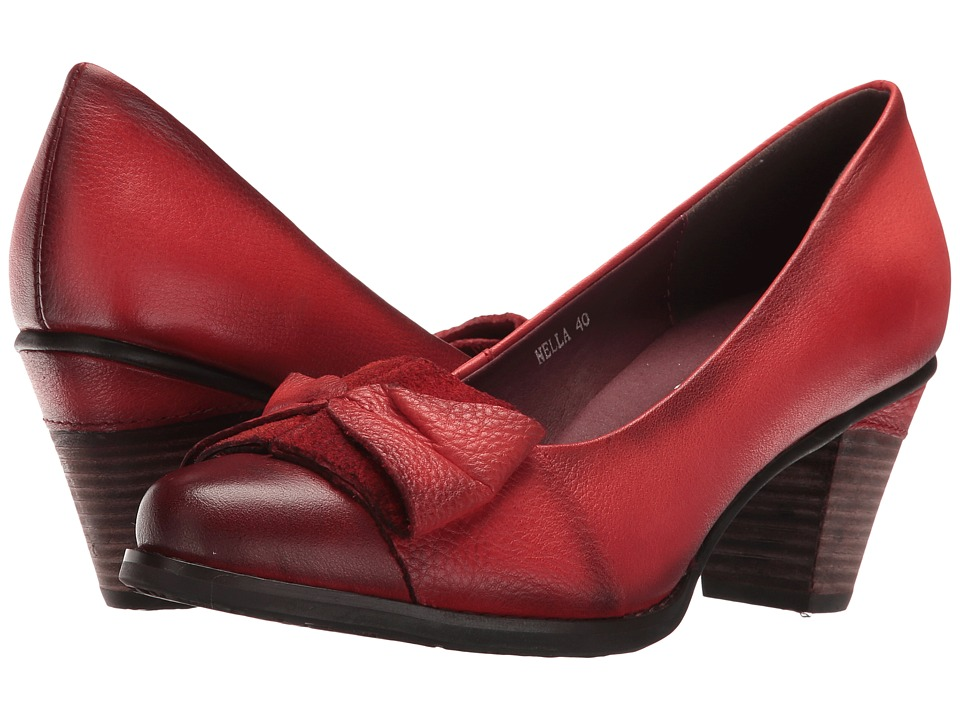 Spring Step - Nella (Red) High Heels