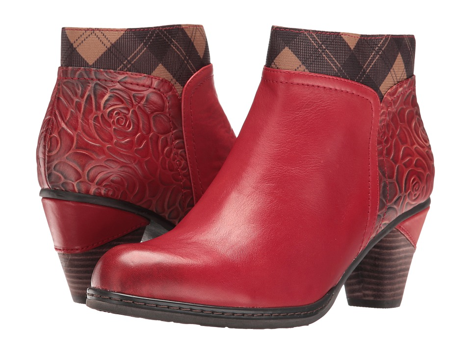 Spring Step - Esben (Red) Women's Dress Boots