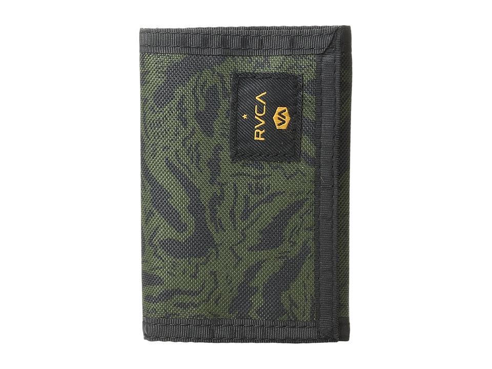 RVCA - Impala Nylon Wallet (Camo) Wallet Handbags