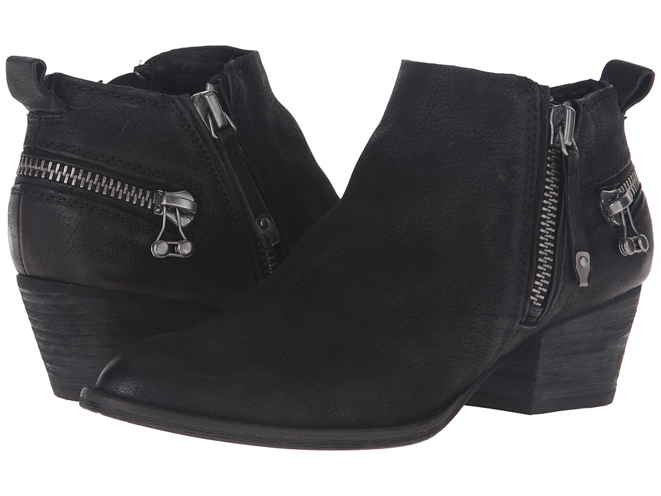 Dolce Vita - Saylor (Black Nubuck) Women's Shoes