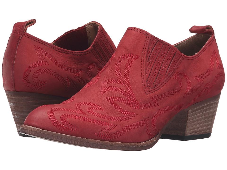 Dolce Vita - Samson (Red Nubuck) Women's Shoes