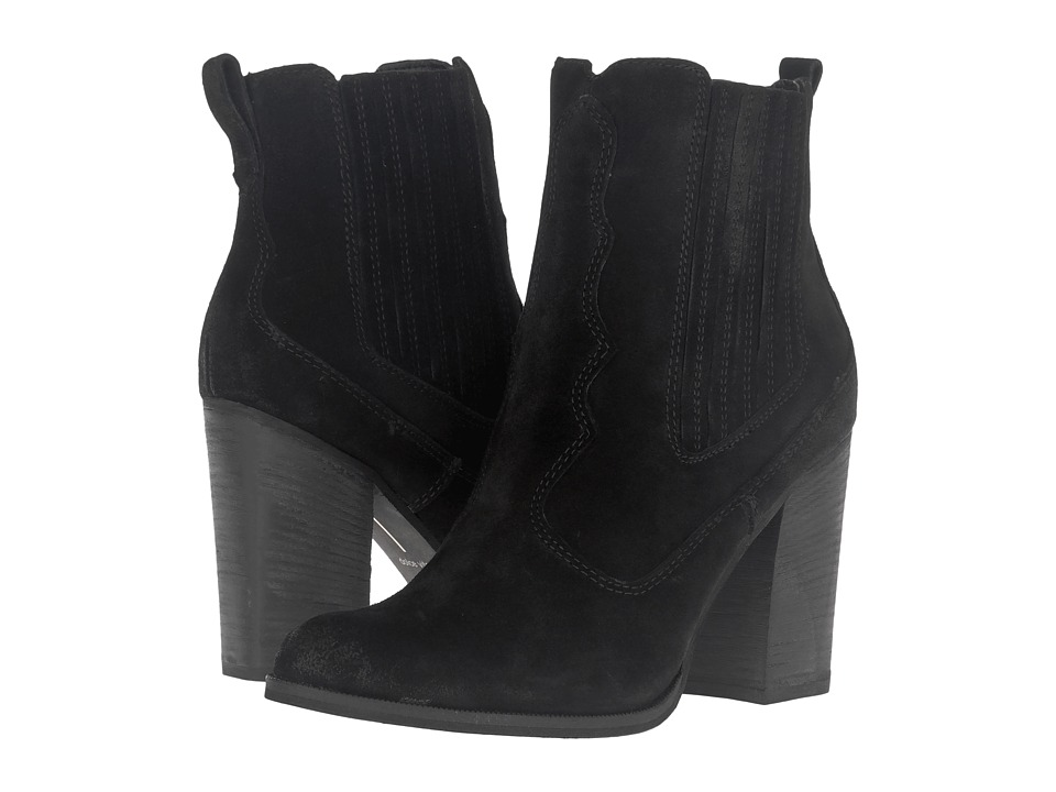 Dolce Vita - Conway (Black Suede) Women's Shoes