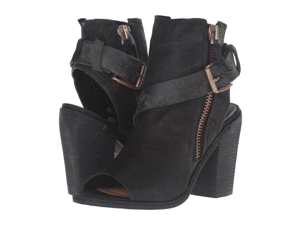 Dolce Vita - North (Black Leather) Women's Dress Sandals