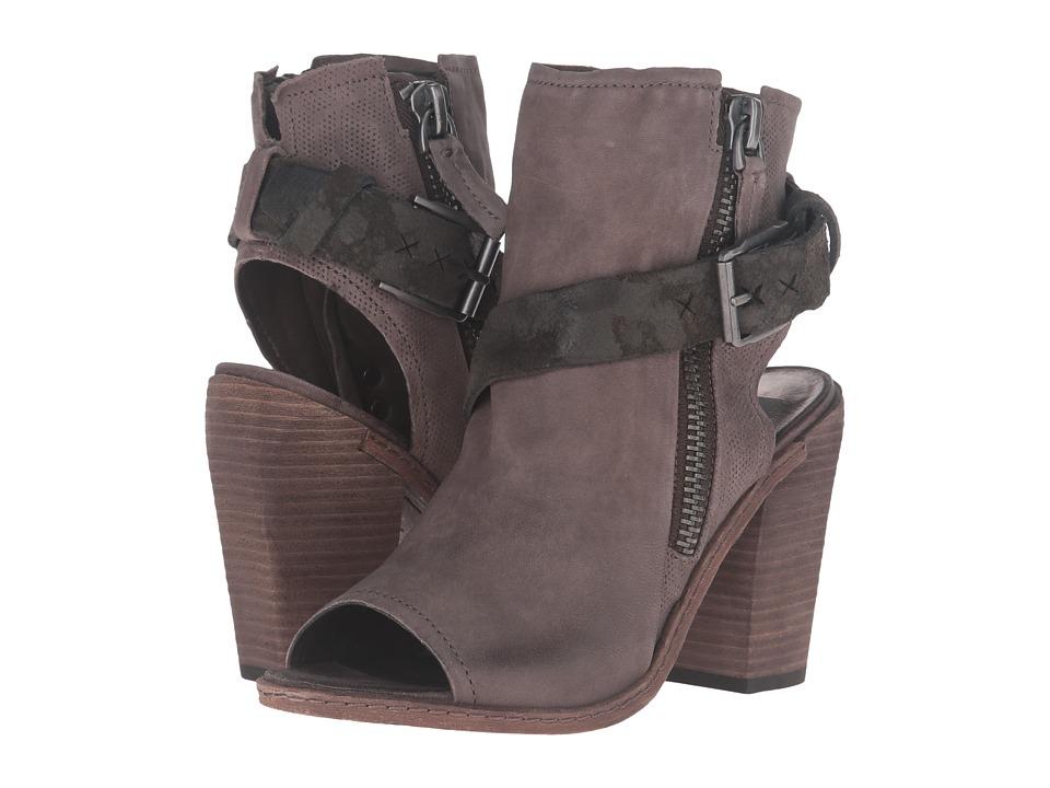 Dolce Vita - North (Grey Leather) Women's Dress Sandals