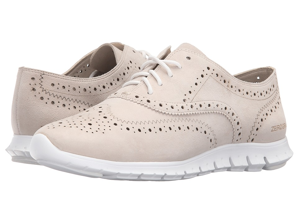 Cole Haan - Zerogrand Wing Oxford (Ivory Suede) Women's Shoes