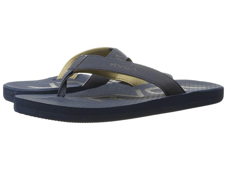 RVCA Subtropic Sandal (Navy) Men