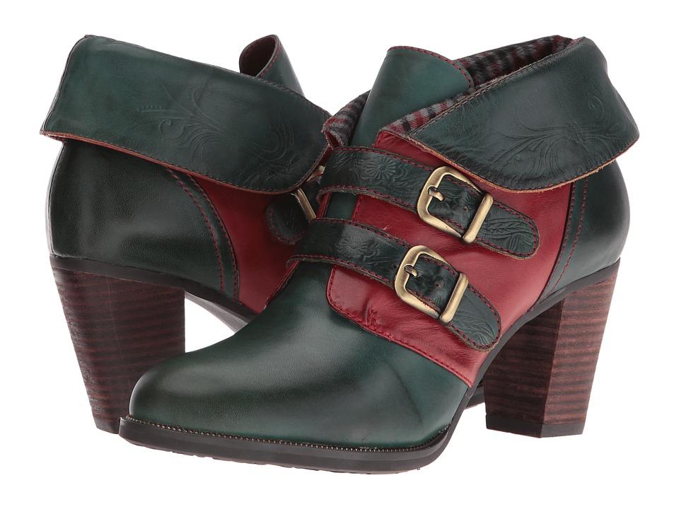 Spring Step - Saaho (Olive Green) High Heels