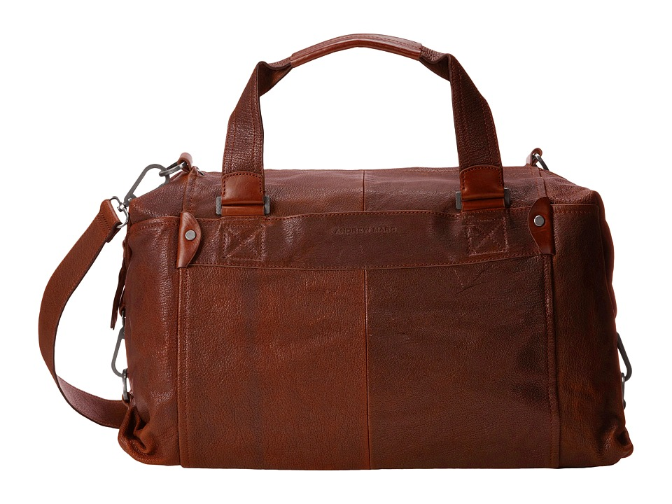 Marc New York by Andrew Marc - Bowery Duffel Bag (Cognac) Duffel Bags