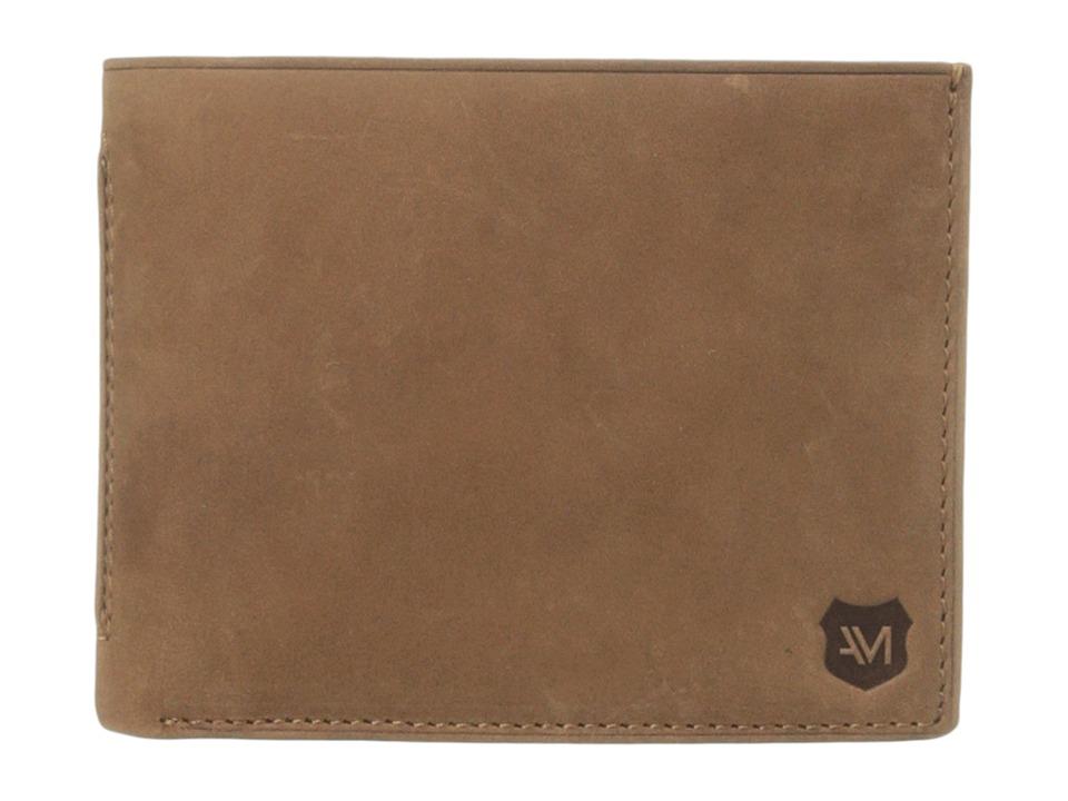 Marc New York by Andrew Marc - Warren Leather Slimfold Wallet (Whiskey) Wallet Handbags