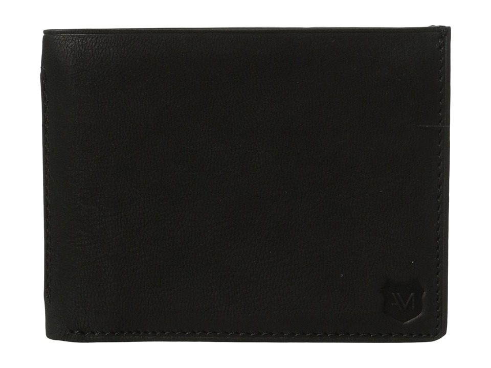 Marc New York by Andrew Marc - Sheridan Leather Slimfold Wallet (Black) Wallet Handbags