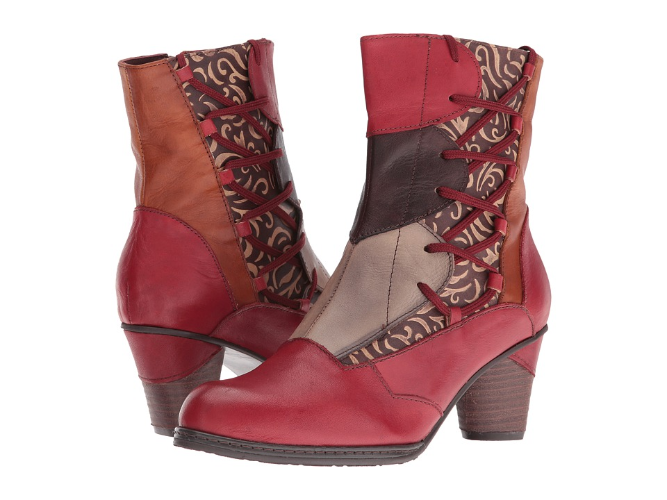 Spring Step - Mia (Red) Women's Dress Boots