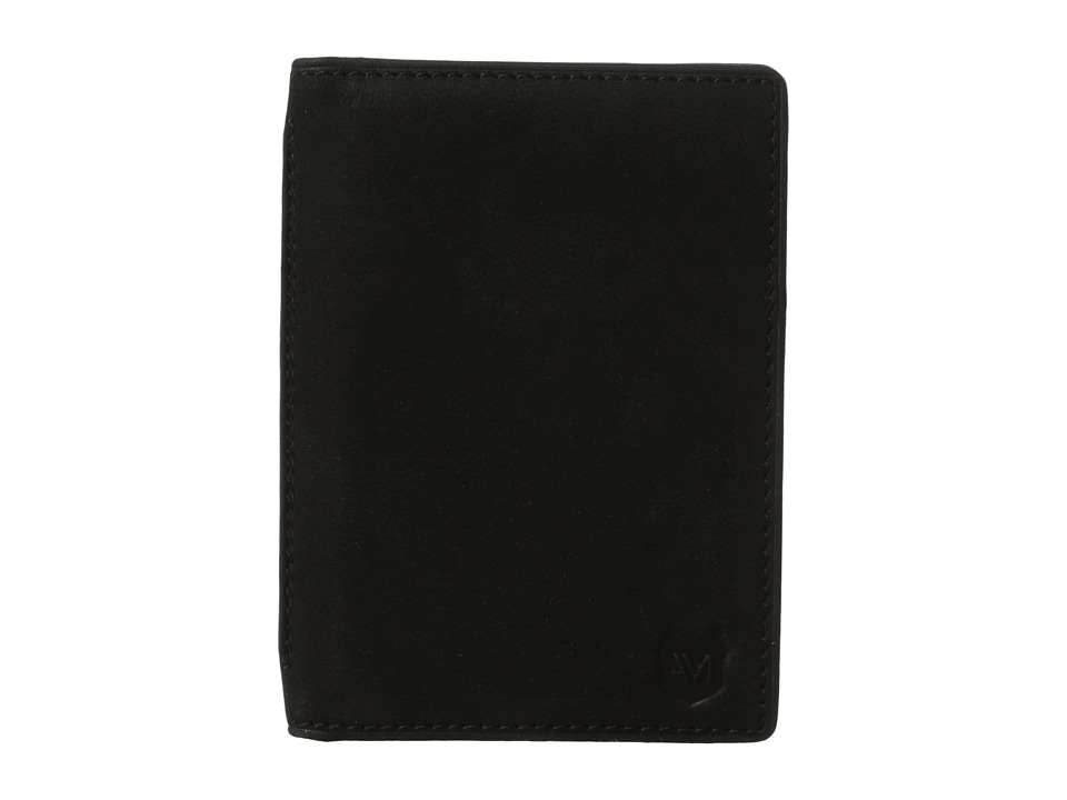 Marc New York by Andrew Marc - Sheridan Leather Folding Card Carrier (Black) Credit card Wallet