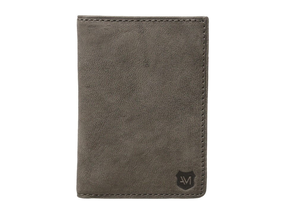 Marc New York by Andrew Marc - Grove Leather Folding Card Carrier (Charcoal) Credit card Wallet
