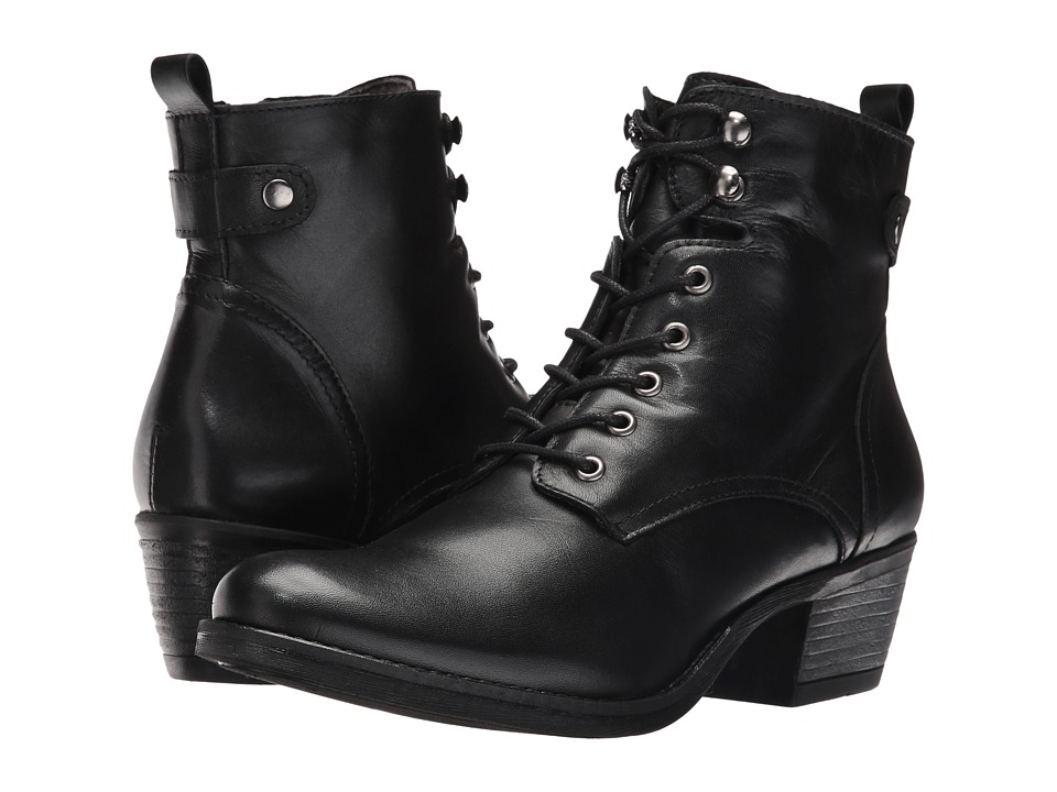 Spring Step - Nario (Black) Women's Lace-up Boots