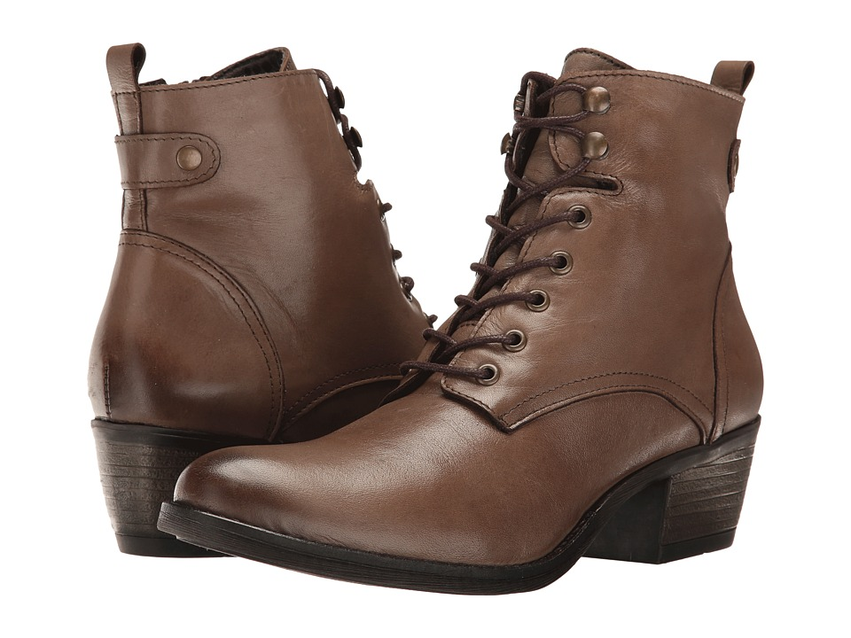 Spring Step - Nario (Taupe) Women's Lace-up Boots