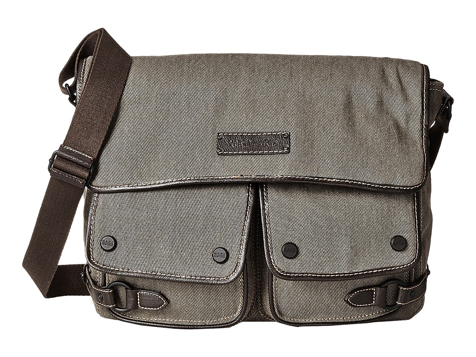 Marc New York by Andrew Marc - Rivington Messenger Bag (Brown) Messenger Bags