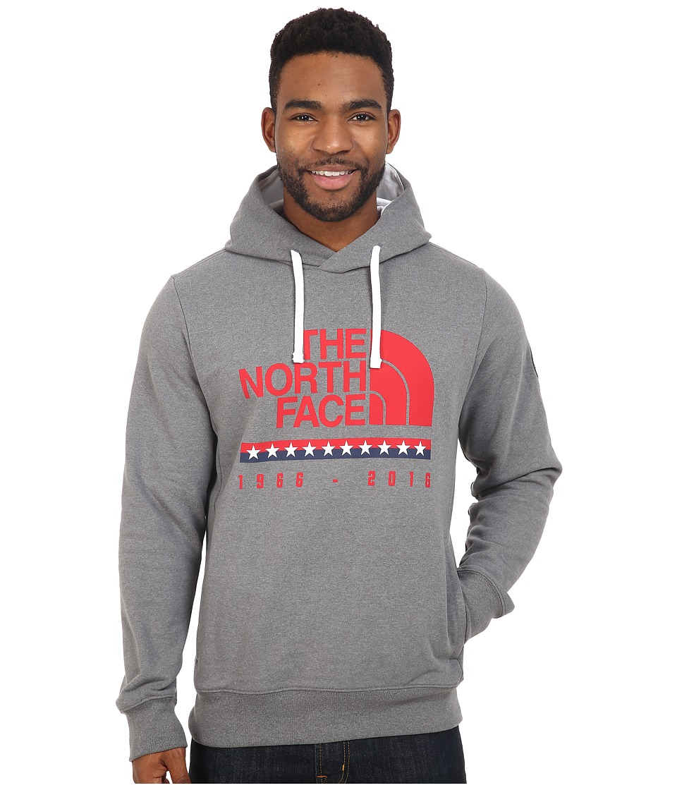 The North Face - USA Pullover Hoodie (TNF Medium Grey Heather) Men's Sweatshirt