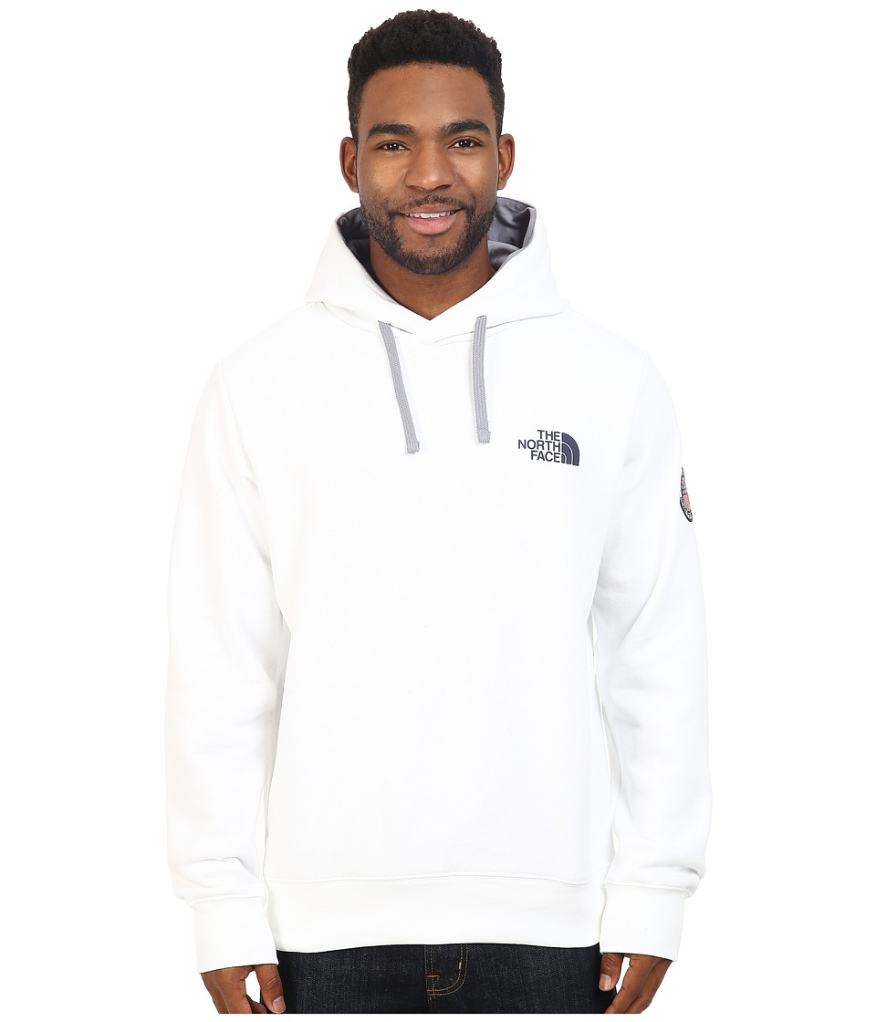 The North Face - USA Pullover Hoodie (TNF White) Men's Sweatshirt