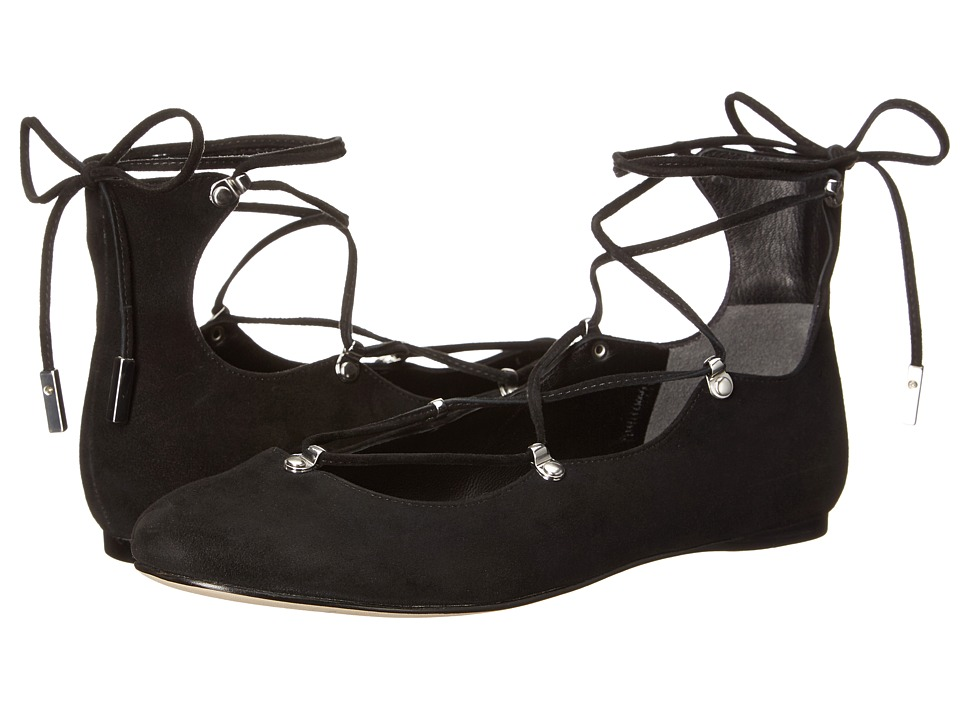 Sigerson Morrison - Elias (Black Suede) Women's Shoes
