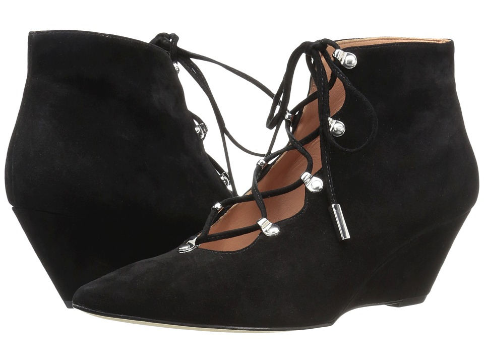 Sigerson Morrison - Wing (Black Suede) Women's Shoes
