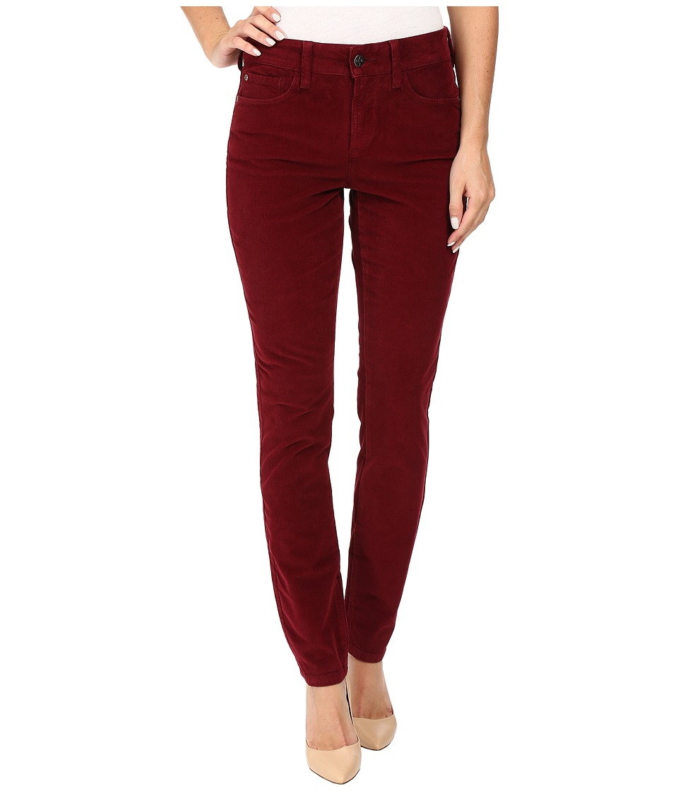 NYDJ - Alina Legging Jeans in Corduroy (Antique Ruby) Women's Jeans