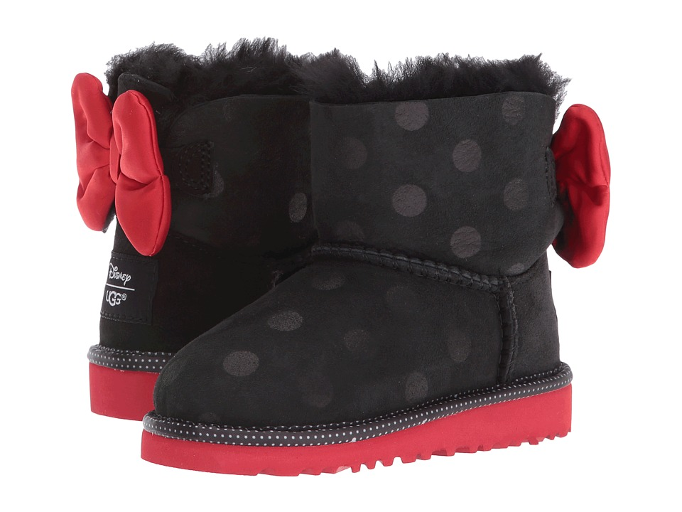 UGG Kids - Sweetie Bow (Toddler/Little Kid) (Black) Girl's Shoes