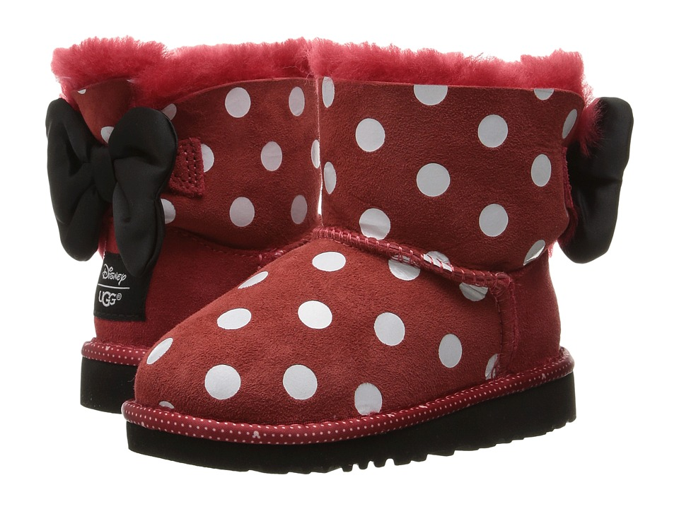 UGG Kids - Sweetie Bow (Toddler/Little Kid) (Red) Girl's Shoes