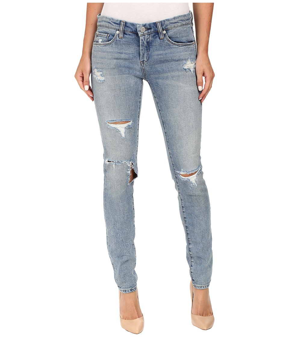 Blank NYC - Denim Distressed Skinny in Skinny Dipper (Blue) Women's Jeans