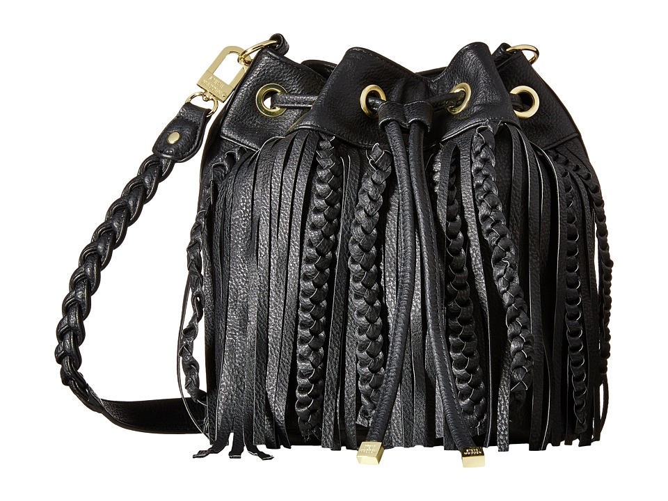Steve Madden - Mini Draw Bucket Crossbody (Black) Cross Body Handbags