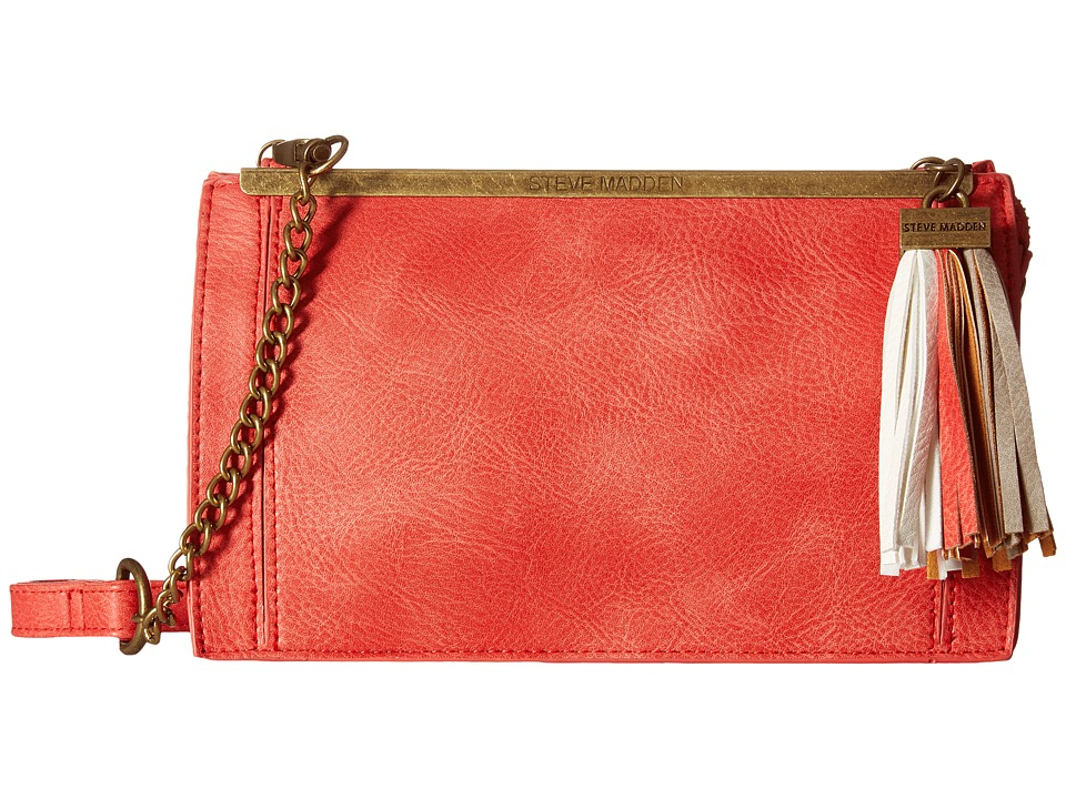 Steve Madden - Bariana Crossbody (Orange) Cross Body Handbags