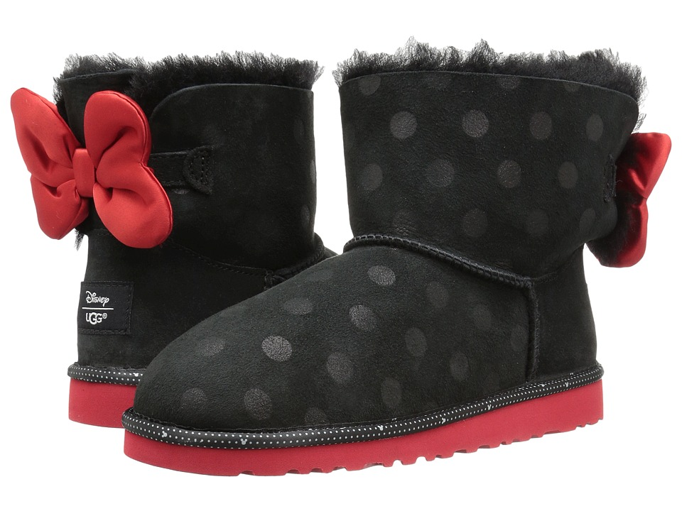 UGG Kids - Sweetie Bow (Big Kid) (Black) Girl's Shoes