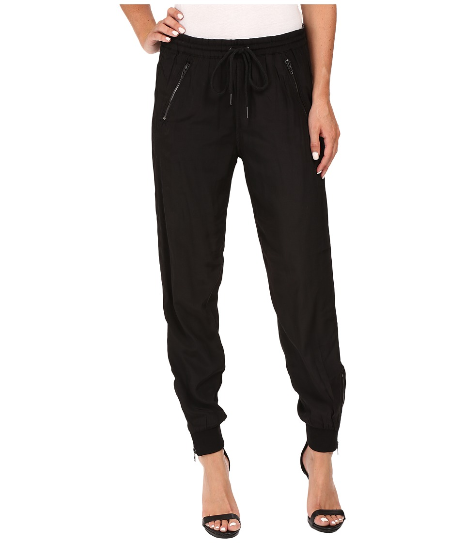 Blank NYC - Black Track Pants in Headphone Zombie (Black) Women's Casual Pants