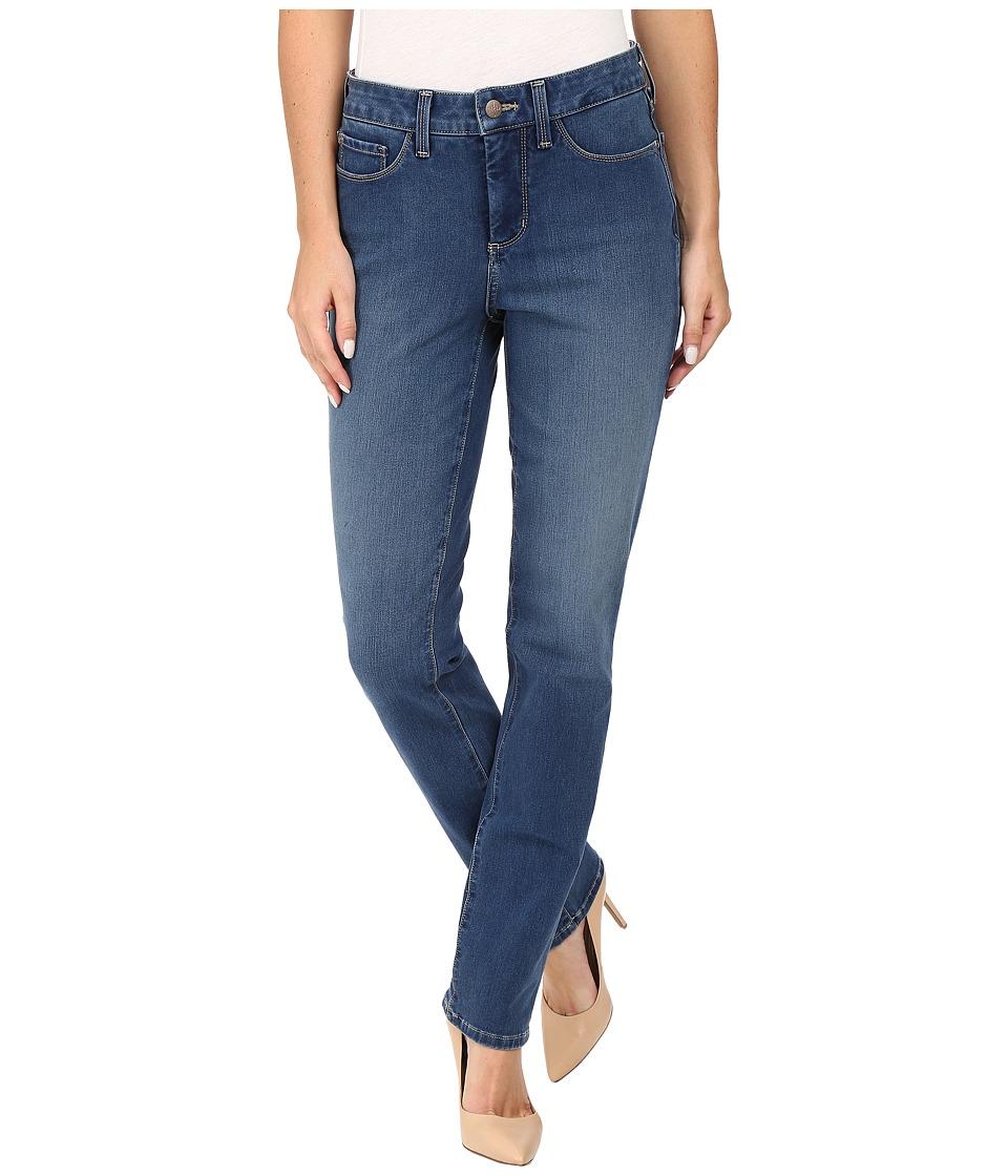 NYDJ - Sheri Slim Jeans in Shape 360 Denim in Annecy Wash (Annecy Wash) Women's Jeans