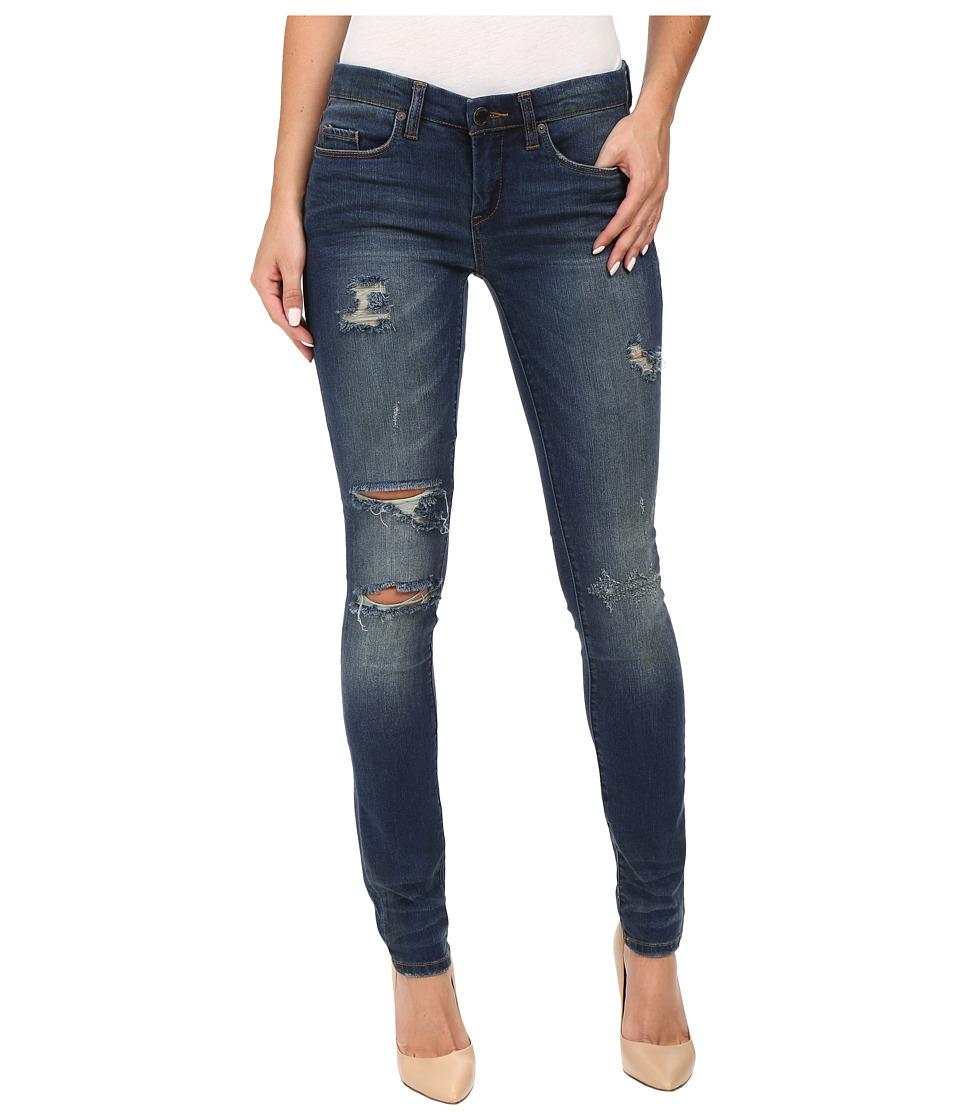 Blank NYC Denim Distressed Skinny in Insta Girl (Blue) Women