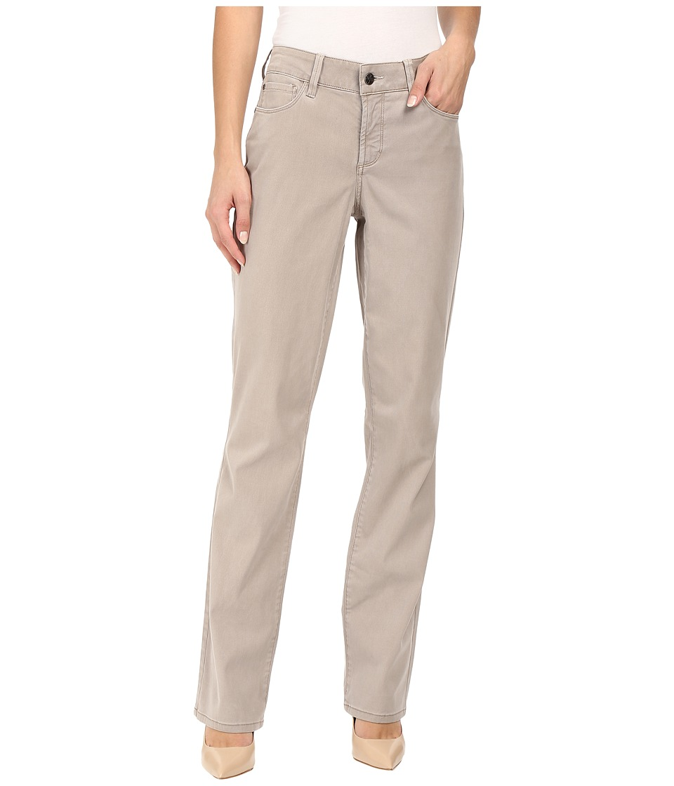 NYDJ - Marilyn Straight (Silver Elm) Women's Casual Pants